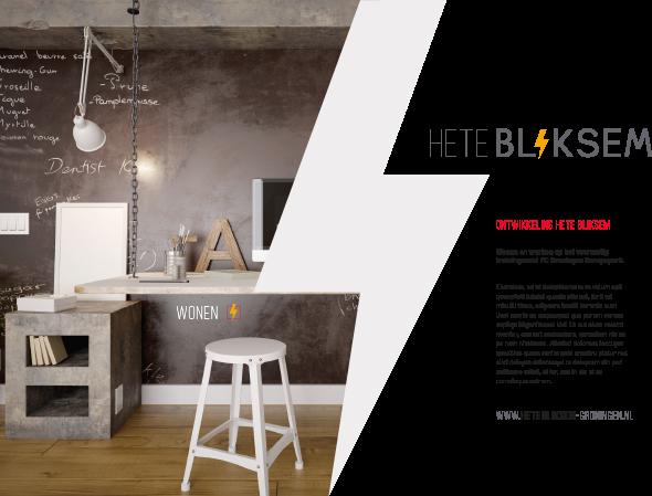 Logo + concept Hete Bliksem