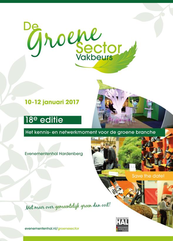 Leaflet Groen Sector vakbeurs