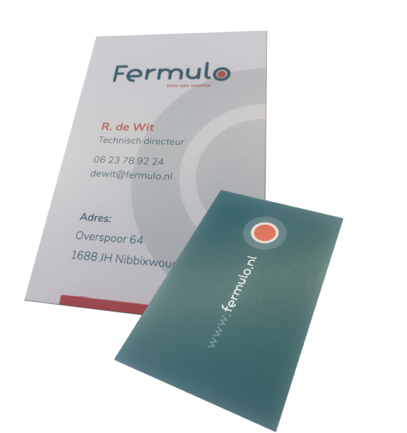 Visitekaartje Fermulo