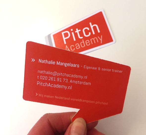 Visitekaartjes Pitch Academy