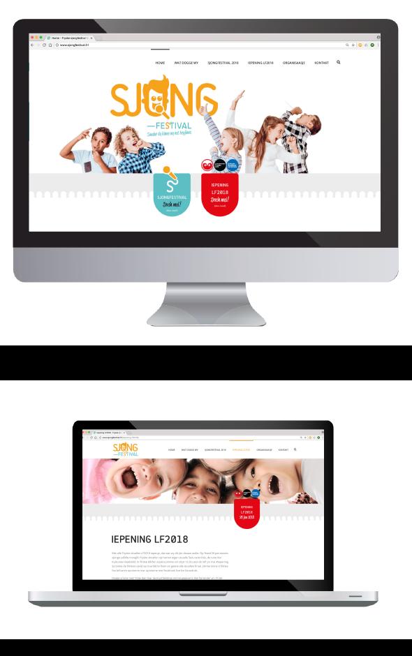 Website Sjongfestival