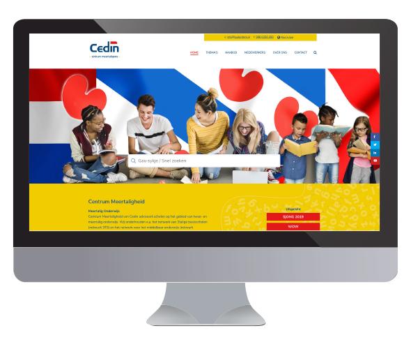 Website Centrum Meertaligheid